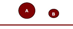 Un exemple de la gravité dans les exercices de raisonnement mécanique