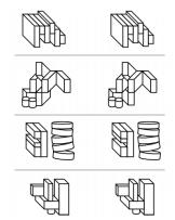 Exemple de question de raisonnement spatial du Criteria UCAT