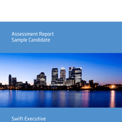 Exemple de rapport de test Saville Swift Exexecutive en anglais